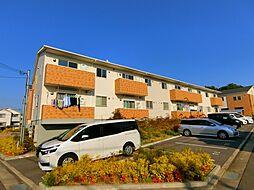 大阪府和泉市山荘町の賃貸アパートの外観