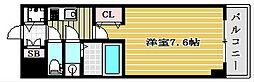 サムティ本町橋IIメディアス[2階]の間取り