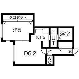 仮)北5条西10丁目マンション[3階]の間取り