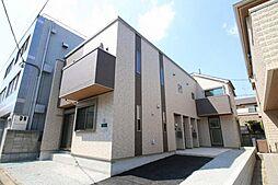 東京都世田谷区上用賀5丁目の賃貸アパートの外観