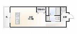 studio apartment WK[504号室]の間取り