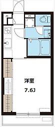 リブリ・ひゅーき[1階]の間取り