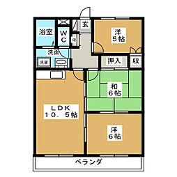 美濃川合駅 4.5万円