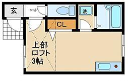 葵町ハイツ[1階]の間取り