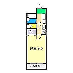 パセオ高須[2階]の間取り