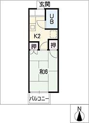シャトルゴタンダ[2階]の間取り