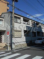 東京都葛飾区青戸4丁目の賃貸アパートの外観