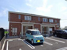 愛知県海部郡大治町大字八ツ屋字西田面の賃貸アパートの外観