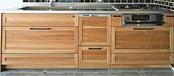 キッチンプラン例システムキッチン設置(同一タイプ)工事費90万円(価格に含みません)
