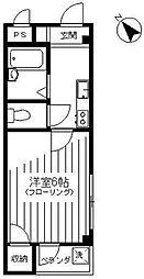 ポスタルコート[3階]の間取り