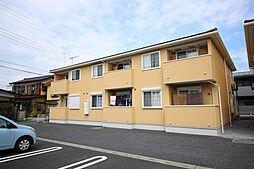 栃木県鹿沼市栄町1の賃貸アパートの外観