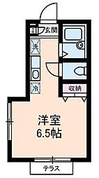 スペースKII[1階]の間取り