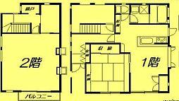 [一戸建] 茨城県つくばみらい市絹の台5丁目 の賃貸【/】の間取り