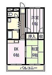 宮本マンション[1階]の間取り