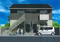 大阪府八尾市跡部本町3丁目の賃貸アパートの外観
