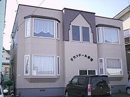 北海道江別市野幌町の賃貸アパートの外観