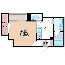グランシャイン伏見桃山(NO.6605)[1階]の間取り