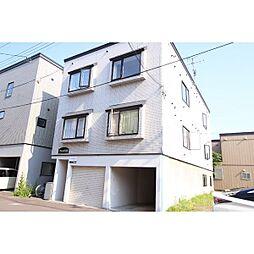北海道札幌市北区北28条西7丁目の賃貸アパートの外観