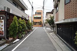 きれいな街並みをご堪能下さい