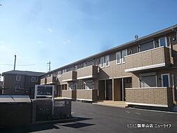 大阪府東大阪市横小路町6丁目の賃貸アパートの外観