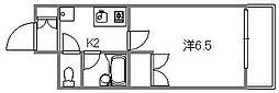 エクセレント楠木[702号室]の間取り
