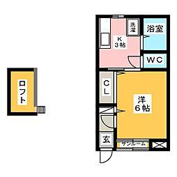 READINGII[1階]の間取り