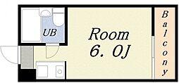 DO九条II[4階]の間取り