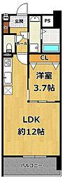 LOCUS2南武庫之荘1丁目新築[2階]の間取り