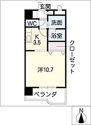 ESPERANZA・M[7階]の間取り