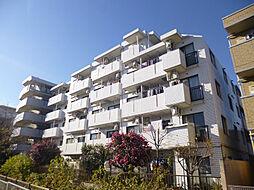 東京都東村山市栄町3の賃貸マンションの外観