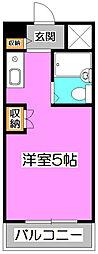 ライズイングサン朝霞台[2階]の間取り