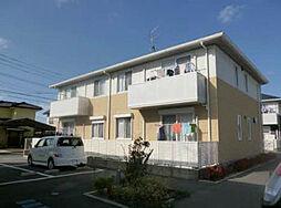 福岡県遠賀郡水巻町伊左座4丁目の賃貸アパートの外観