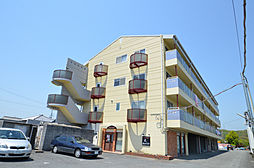 兵庫県たつの市誉田町福田の賃貸マンションの外観