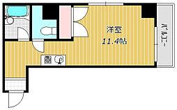 アロー本八幡駅前ビル[5階]の間取り