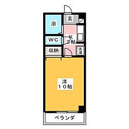 パオ151[2階]の間取り