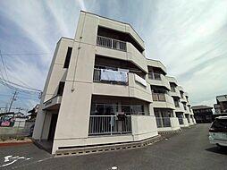 鈴与マンション[3階]の外観