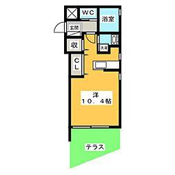 Mina八事石坂[1階]の間取り