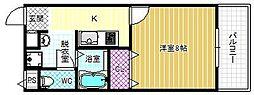 アンプルールリアライフ2[1階]の間取り