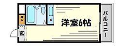 ダイドーメゾン甲子園口[4階]の間取り