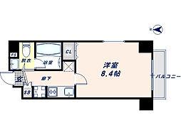 プレシオ小阪[3階]の間取り