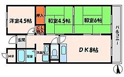 新橋中野マンション[2階]の間取り