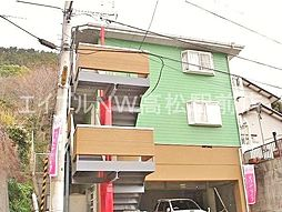 香川県高松市室新町の賃貸アパートの外観