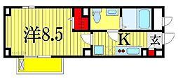 リブリ・イーストヒルNII[3階]の間取り