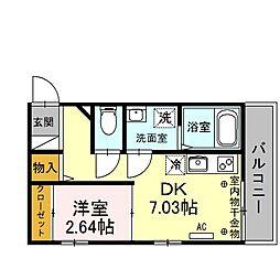 [一戸建] 埼玉県川越市南通町 の賃貸【/】の間取り