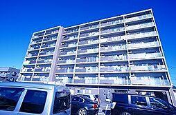 栃木県宇都宮市峰2丁目の賃貸マンションの外観