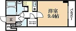 ルーミネス三番館[4階]の間取り