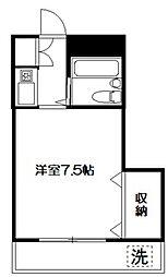 ANNEX TAKAGI[304号室]の間取り