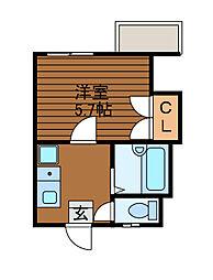 コート・ルポ[1階]の間取り