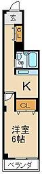 メゾンスカーレット[2階]の間取り