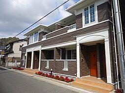 滋賀県近江八幡市北元町の賃貸アパートの外観